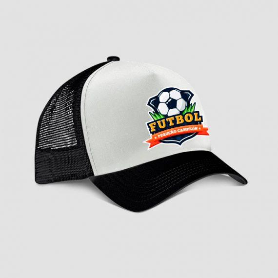 gorra futbol para niños