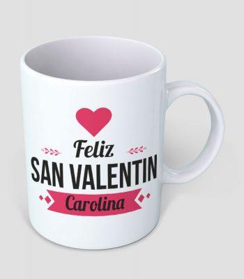 Jarro Feliz San Valentín Blanco