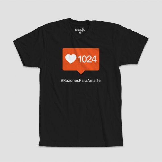 Camiseta 1024 Razones