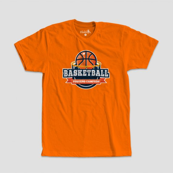 Camiseta Basketball Naranja
