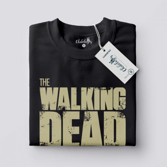 Camiseta The Walking Dead doblada