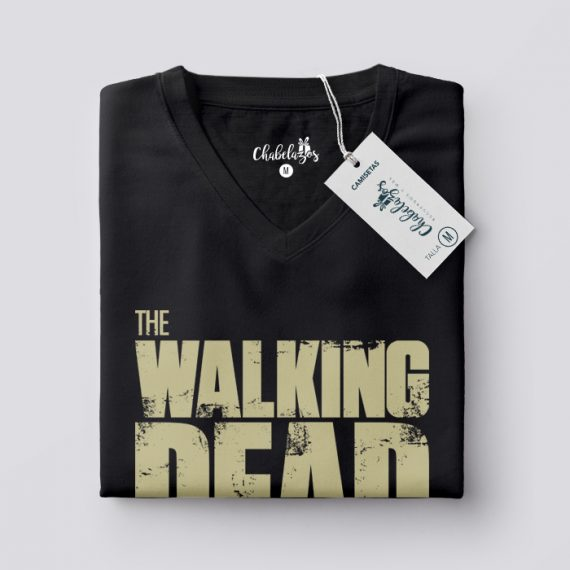 Camiseta The Walking Dead doblada V
