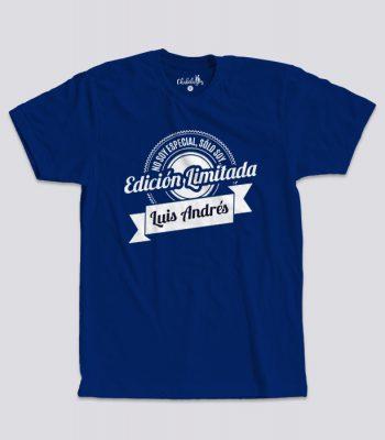 Camiseta Edición Limitada Azul
