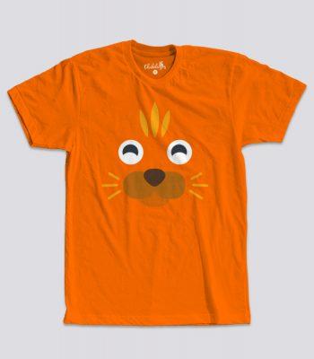 Camiseta peques gatito naranja