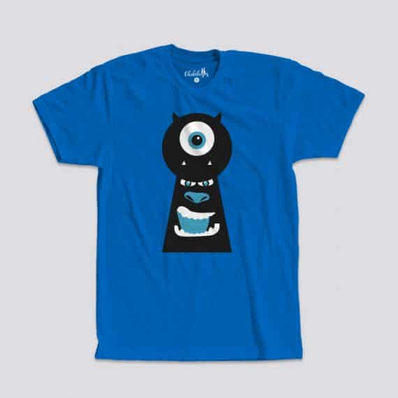 Camiseta Monster Inc Azul