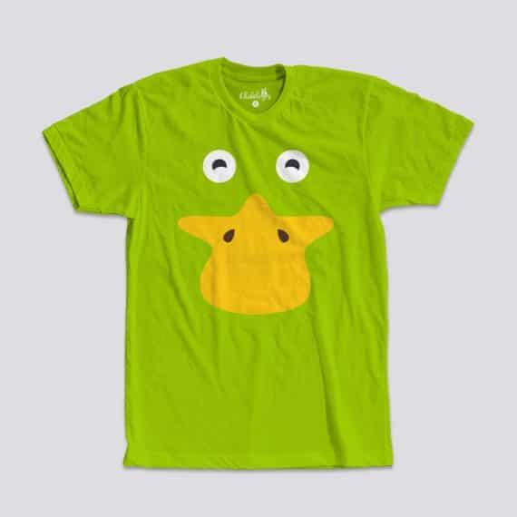 Camiseta Patito Verde