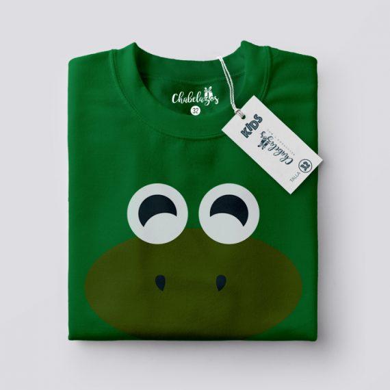 Camiseta Peques Sapito doblada